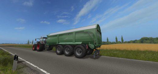 Мод прицеп Krampe Bandit 980 v 1.0 Farming Simulator 17