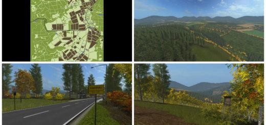 Мод карта Kleinhau v1.1 Farming Simulator 2017