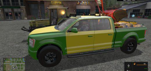 Мод сервисный авто Lizard TT Service Pickup v 2.0 FS 17