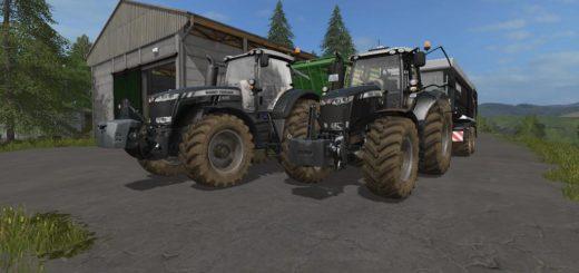 Мод трактор Massey Ferguson 8700 v2.5 FS17