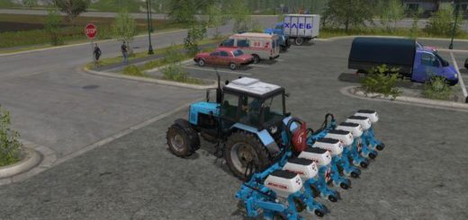 Мод сеялка Monosem Seeder v 1.1 Farming Simulator 17