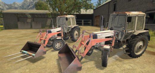 Мод трактор МТЗ 82 FL v 1.0 Фермер Симулятор 2017