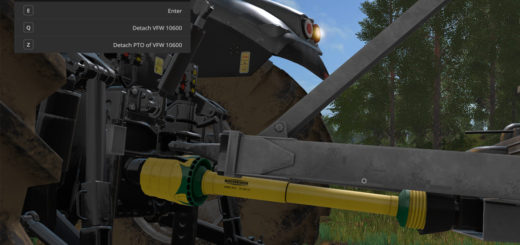 Мод скрипт Manual Attaching v 1.2.0.0 Farming Simulator 2017