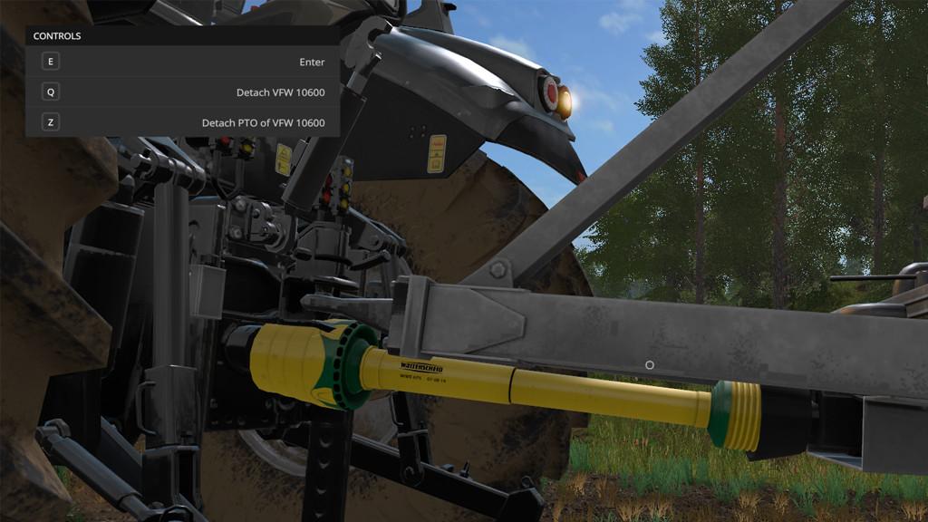 Мод скрипт Manual Attaching v 1.2.0.0 Farming Simulator 2017