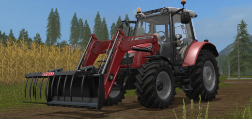 Мод трактор Massey Ferguson 5600 with frontloader v 1.0 FS17