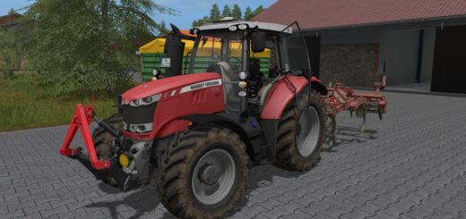 Мод трактор Massey Ferguson 6600 v1.1 Farming Simulator 17