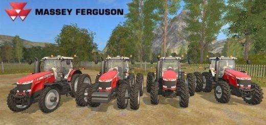 Мод трактора Massey Ferguson 8700 Series USA v 1.0 Farming Simulator 2017