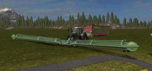 Мод валковая жатка Nadal R90 Telescopic Front v 1.0 Farming Simulator 2017