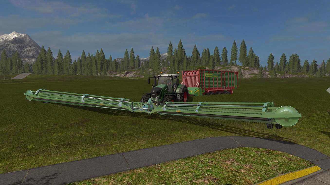 Скачать валковую жатку для фермер симулятор 2017