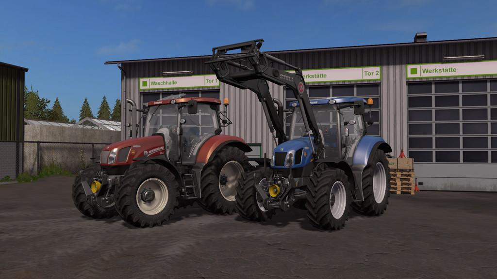 Мод трактора New Holland T6 Tier4a v 1.0 FS 17