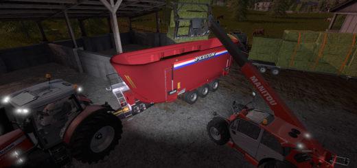 Мод миксер Peecon Biga Mega Mammoet 1.1.0.0 Farming Simulator 2017