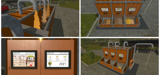Мод Placeable Pig Food Mixer (PF-5000) v 1.0 Farming Simulator 17