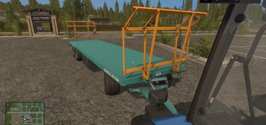 Мод прицеп Rolland RP 10006 CH v 1.0 Farming Simulator 17