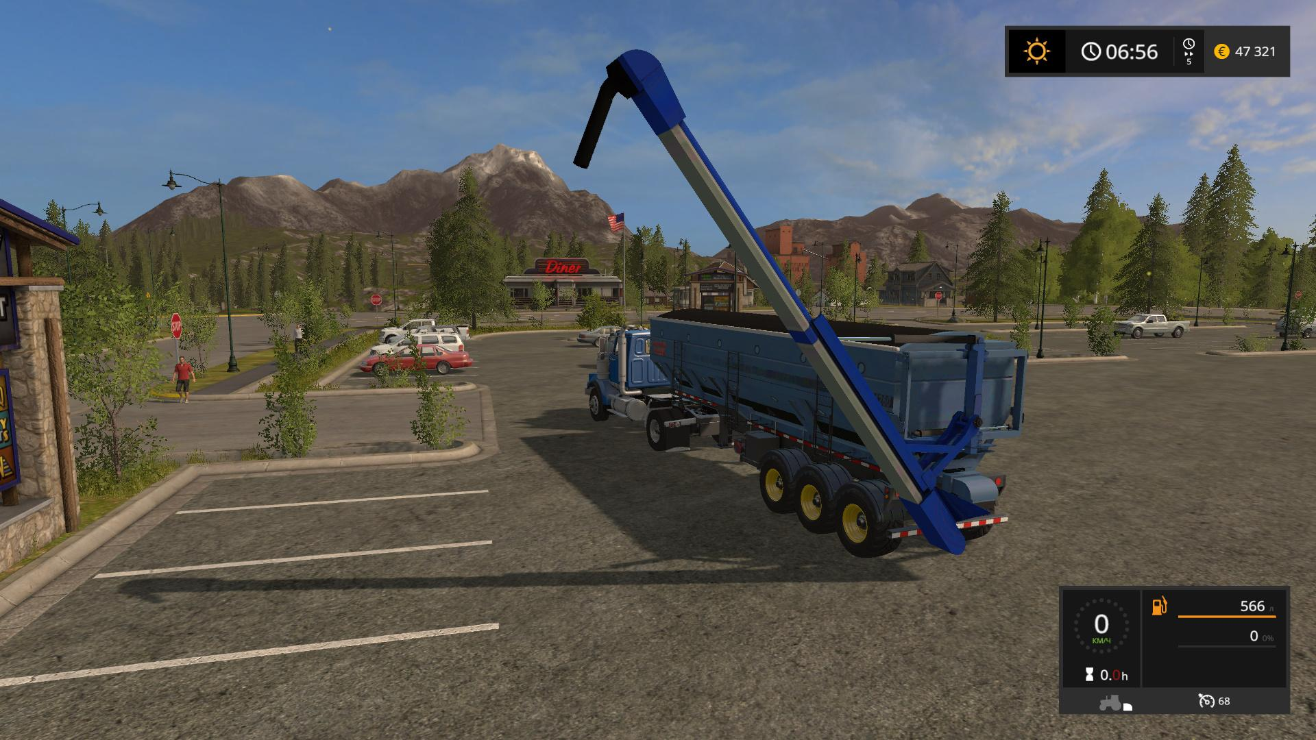 Мод прицеп Seed Express 1260 v 2.0.0.0 Farming Simulator 17