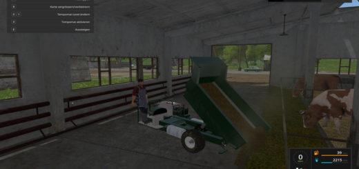 Мод тележка SF Kipper V 1.0 Farming Simulator 17