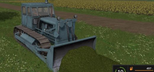 Мод бульдозер T-100 V1.0 Фермер Симулятор 2017