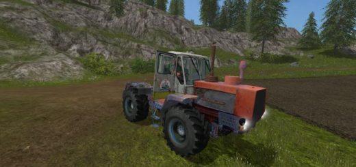 Мод трактор ХТЗ T 150K Ihtiandr v 1.0 Фарминг Симулятор 2017