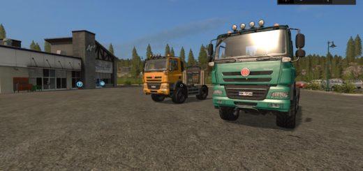 Мод тягачи Tatra Phoenix 4x4 & 6x6 v 2.0 FS 17
