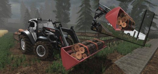 Мод ковш UNIVERSAL BUCKET PLUS v1.0 Farming Simulator 2017