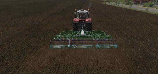 Мод культиватор VibroCultivator Agromet 7m v 1.0 Farming Simulator 2017