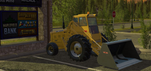 Мод погрузчик Volvo LM 218 Wheel Loader v 1.17.1 Farming Simulator 2017
