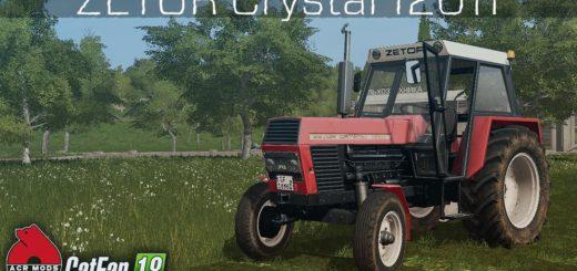 Мод трактор Zetor Crystal 12011 FL v 1.0 FS17