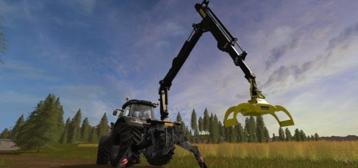 Мод PONSSE REAR CRANE Farming Simulator 2017