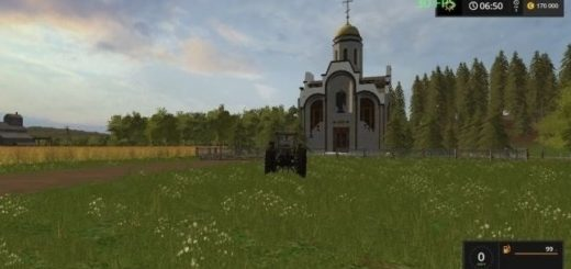 Мод Храм v 1.0 Фарминг Симулятор 2017