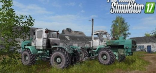 Мод трактор ХТЗ Т 150К v 1.0 Фарминг Симулятор 2017