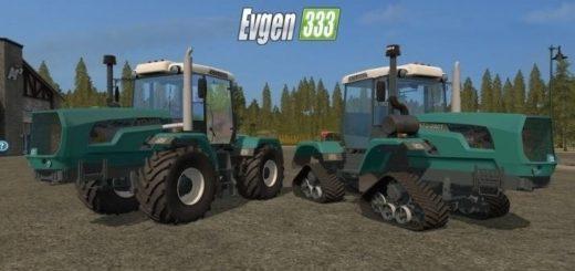 Мод трактора ХТЗ HTZ 243K & 280T v 3.1 Фермер Симулятор 2017