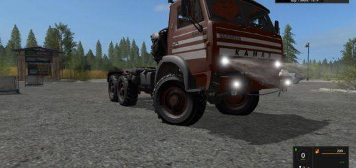 Мод грузовик КАМАЗ KAMAZ 5320 V1.0 Фермер Симулятор 2017