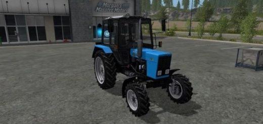 Мод трактор МТЗ 82.1 v 2.0 Фарминг Симулятор 2017