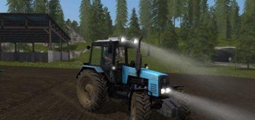 Мод трактор МТЗ 1221 v 1.0 Фермер Симулятор 2017