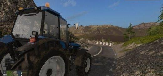 Мод ПАК техника для карты Дары Кавказа Farming Simulator 2017