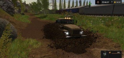 Мод ПАК дополнительной техники для карты Дары Кавказа Farming Simulator 17