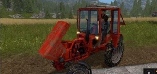 Мод трактор Т-25А v 1.0 Фарминг Симулятор 2017