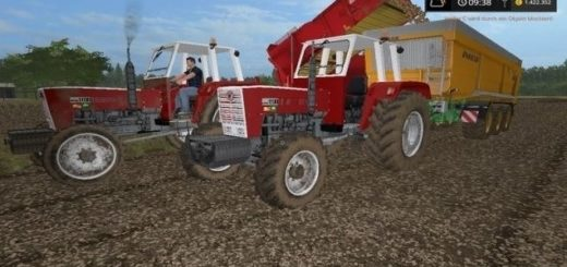 Мод трактор Steyr 1100 v 1.0 Farming Simulator 2017