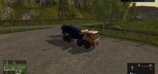 Мод бетономешалка MAN mixer Farming Simualtor 2017