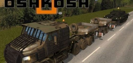 Мод Oshkosh M1070A1 v 1.0 Farming Simulator 17