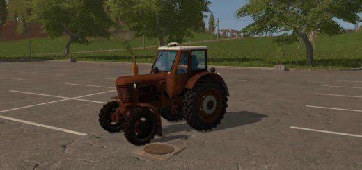 Мод трактор МТЗ MTZ 52 v 1.0 Фарминг Симулятор 2017