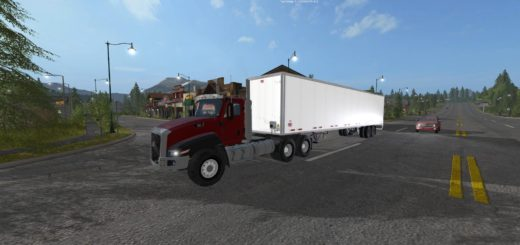 Мод прицеп Wabash 53ft Trailer v1.0 Farming Simulator 2017