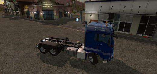 Мод грузовик AR/FRAME Truck & Trailer Pack v 1.0 Farming Simulator 17