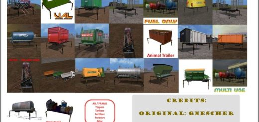 Мод модули AR/Frame – Equipment Pack v 1.0 FS17
