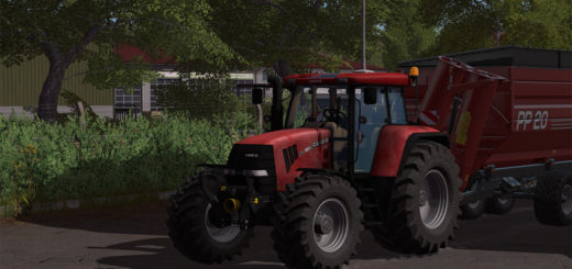Мод трактор Case CVX 160 v 2.1 Farming Simulator 17