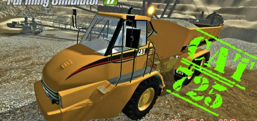 Мод CATERPILLAR 725 V1.0 FS17