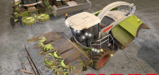 Мод комбайн Claas Jaguar 900 v 1.0 Farming Simulator 17