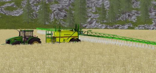 Мод опрыскиватель Dammann Profi Class 5036 v 1.0.1 Farming Simulator 2017