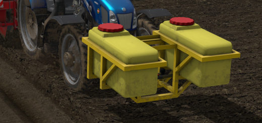 Мод Dubex Fertilizer Tank v 1.0 FS 17
