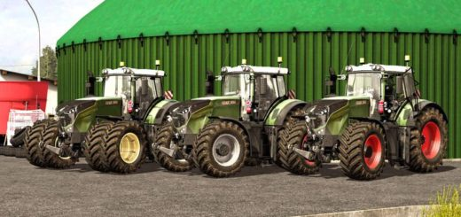 Мод трактор Fendt 1050 Vario v 1.1 Farming Simulator 17
