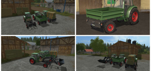 Мод трактора Fendt GT 255 v1.0.0.1 Farming Simulator 2017